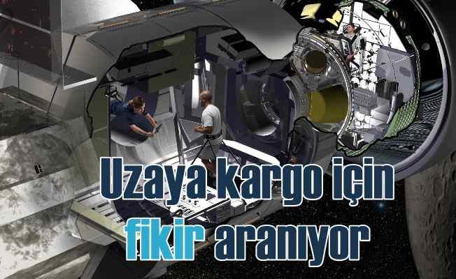 Uzaya ticari kargo göndermek için 'Fikir' aranıyor