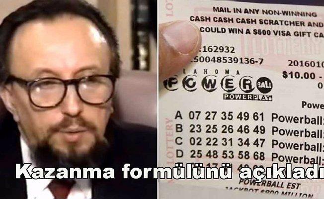14 kez lotoyu kazanan matematik dahisi formülünü açıkladı