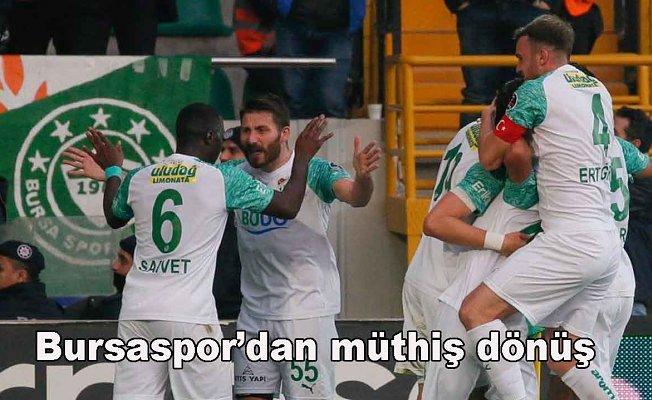 Akhisarspor 2- Bursaspor 4