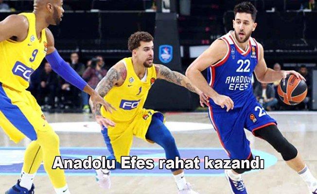 Anadolu Efes 90- Maccabi FOX Tel Aviv 77