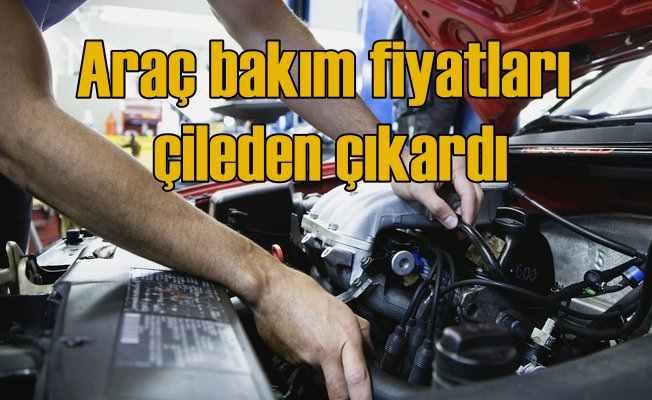 Araç bakım fiyatları enflasyon rakamlarını solladı