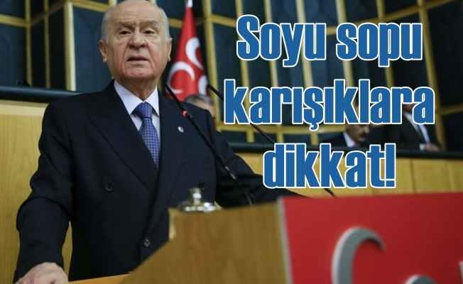 Bahçeli'den stokçulara ve Türk kimliğini tartışanlara sert sözler