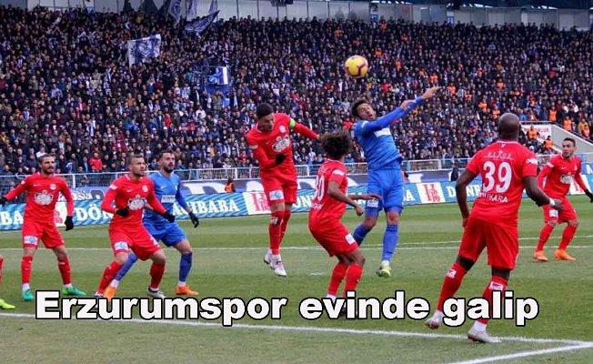 BB Erzurumspor 1- Antalyaspor 0