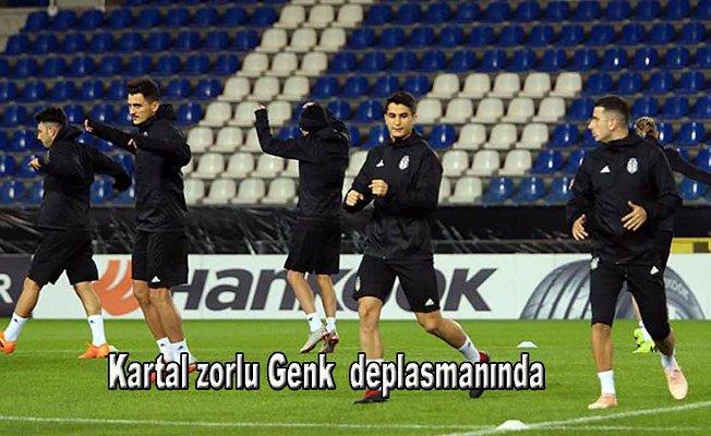 Beşiktaş, Genk deplasmanında