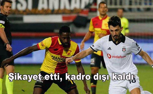 Beşiktaş'ta Tolgay Arslan depremi