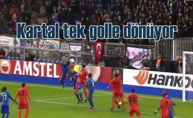 Beşiktaş GNK karşısında beraberliğe razı oldu