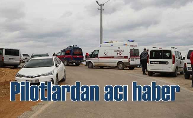 Denizli'de düşen uçak: 2 pilotun cesedi bulundu