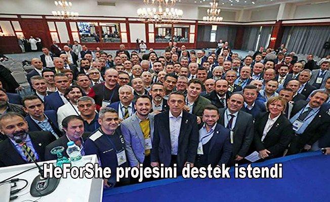 Fenerbahçe dernekler toplantısı yapıldı
