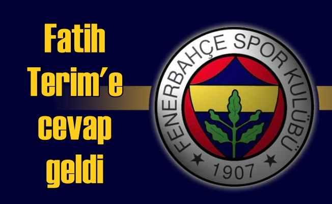 Fenerbahçe'den Fatih Terim'e 'Haksızlık' cevabı gecikmedi; Bizce de var
