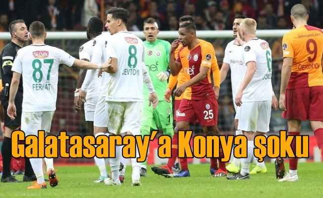 Galatasaray Konyaspor maçı yönetimi karıştırdı; Kelimeler tükendi