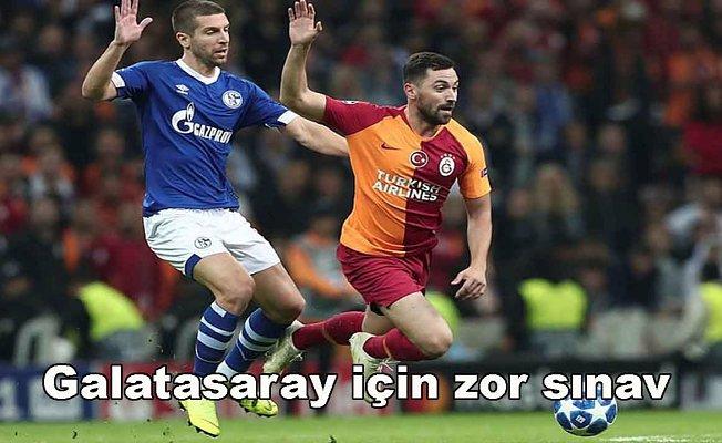 Galatasaray,FC Schalke 04 deplasmanında