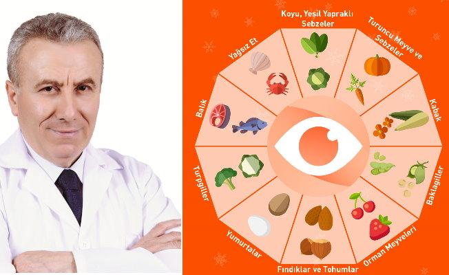 Göz sağlığı için kış mevsiminde 10 besin tavsiyesi
