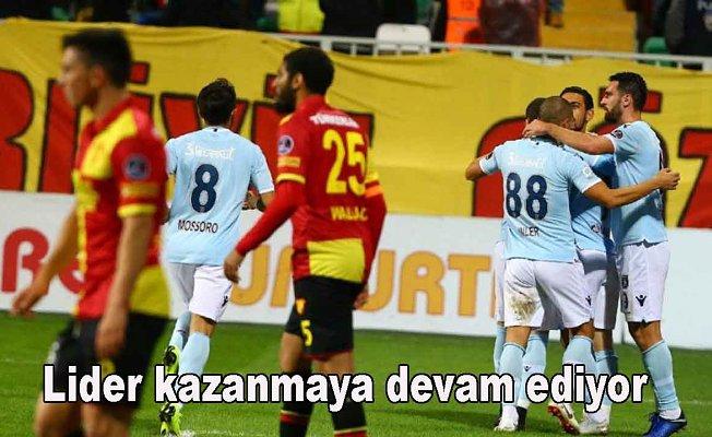 Göztepe 0-Medipol Başakşehir 2
