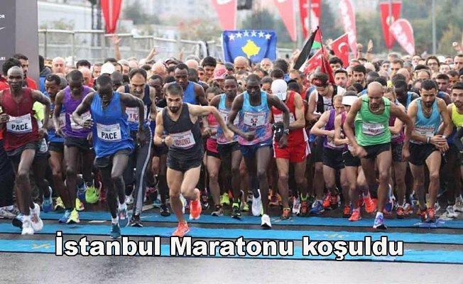 İstanbul Maratonu galibi yabancı atletler oldu