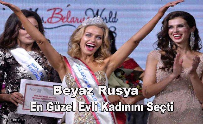 İşte Beyaz Rusya'nın en güzel evli kadını