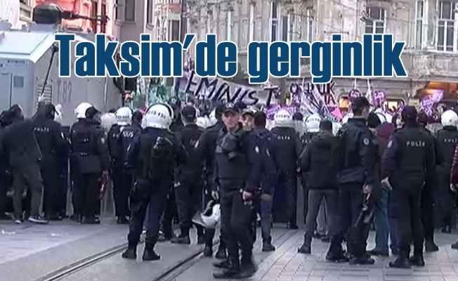 Kadınlar şiddete hayır demek istemişti: Polis dağıttı