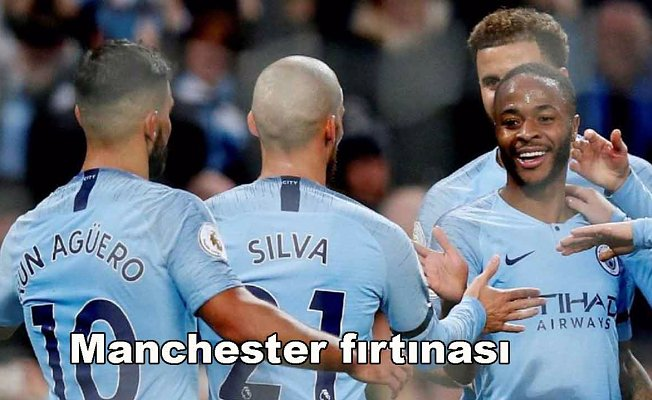 Manchester City 6- Sounthampton 1