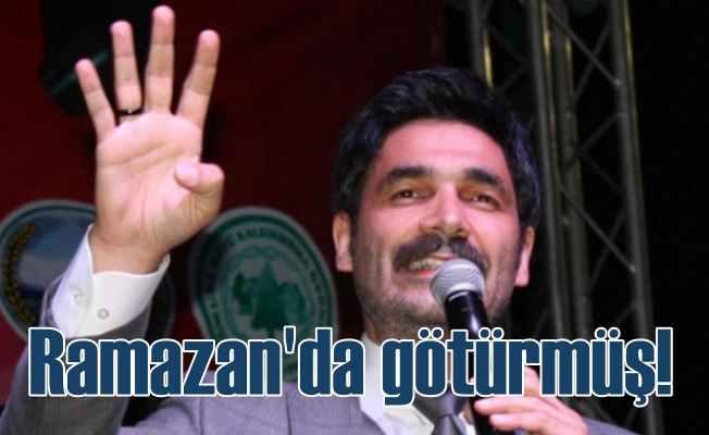 Ramazan Ayı en çok Uğur Işılak'a yaramış: Konya'da geceliğine 40 TL ödemişler