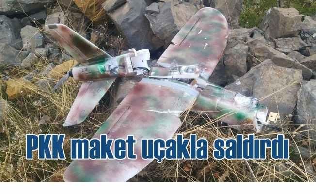 PKK 10 Kasım'da maket uçaklarla saldırdı