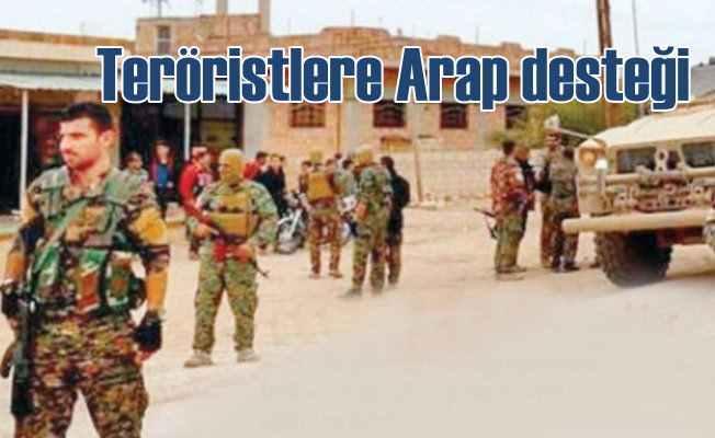 PKK'lı teröristlere Suud ve BAE desteği: Ayaklarına kadar gittiler