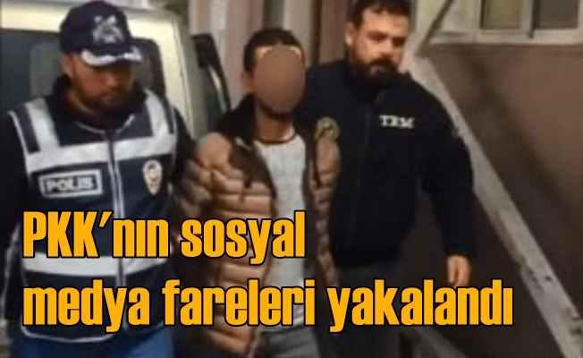 PKK'nın sosyal medya ekibine operasyon