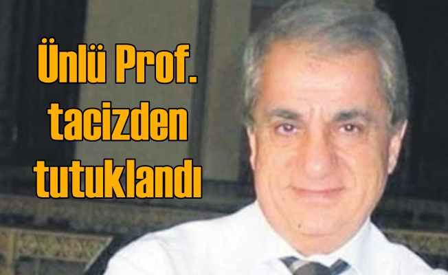 Prof. Fecri Sevilen tacizden tutuklandı