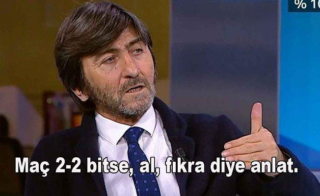 """Rıdvan Dilmen """"Bu teknik direktör futbol oyununu bilmiyor"""""""