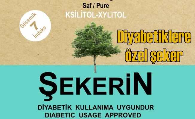Şekerin marketlerde; Diyabetliler için ksilitol Şekerin Türkiye pazarına girdi