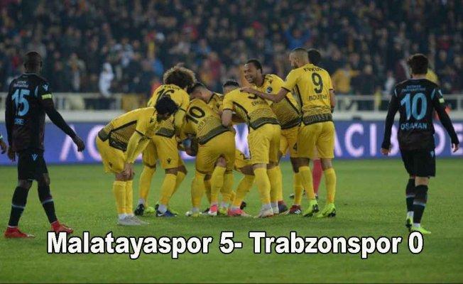 Trabzon Malatya'da hezimete uğradı
