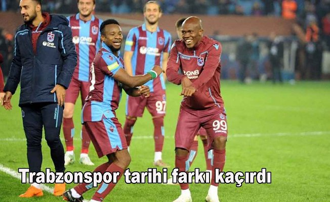 Trabzonspor 2- Fenerbahçe 1