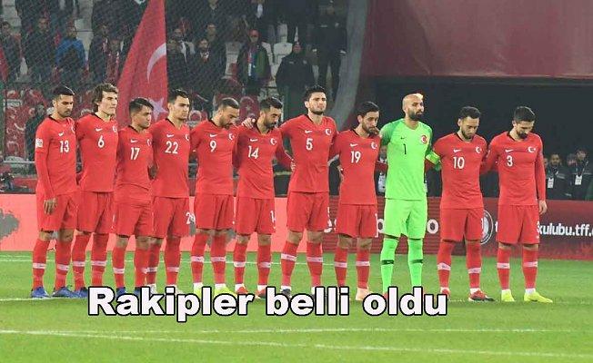 Türkiye'nin C Ligi rakipleri belli oldu