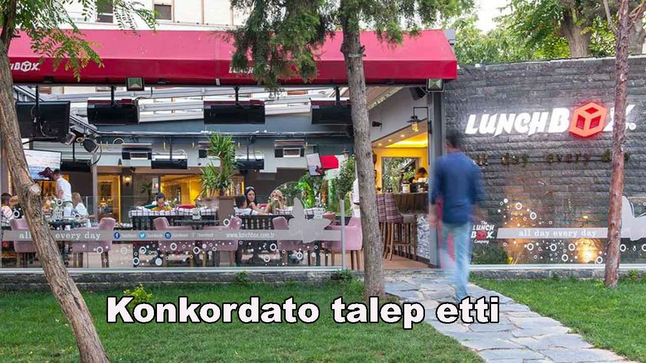 Ünlü restoran zinciri konkordato talep etti