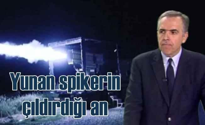 Yunanistan'da TV spikeri bu görüntelere çıldırdı