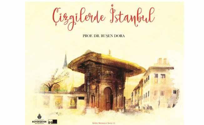 Çizgilerde İstanbul raflarda yerini aldı