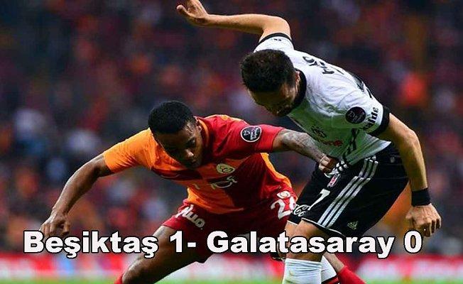 Derbinin galibi Beşiktaş