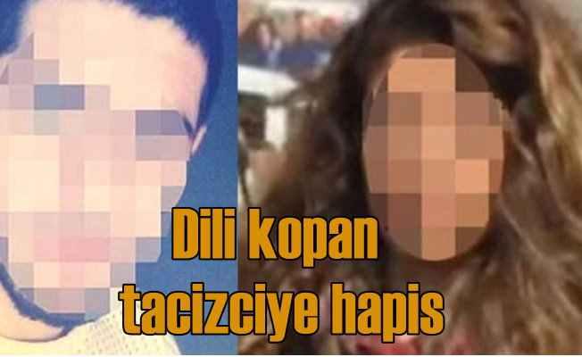 Dili kopan tacizciye 5 yıl hapis cezası verildi