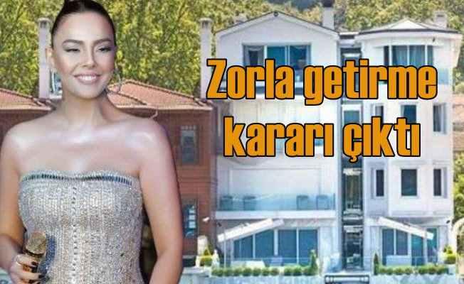 Ebru Gündeş'e mahkemeden zorla getirme kararı