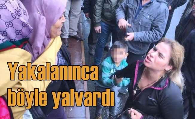 Fatih'te kapkaççı kadın dehşeti: Vatandaşlar yakaladı