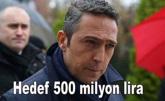 Fenerbahçe'de hedef 500 milyon TL bağış