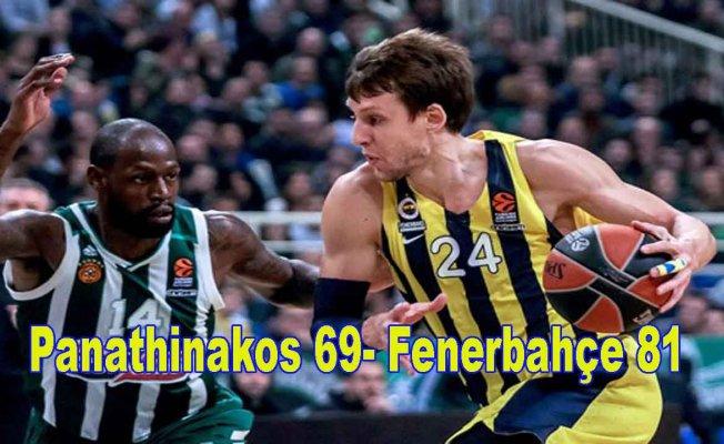 Fenerbahçe OAKA'yı Pana'nın başına yıktı