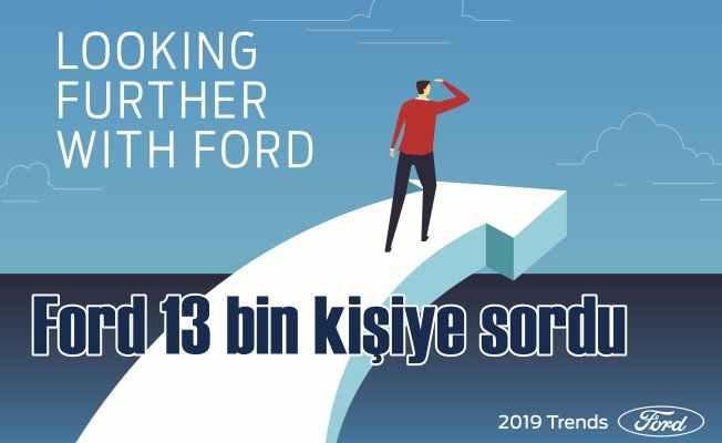 Ford, 2019 raporundan çarpıcı beklentiler var