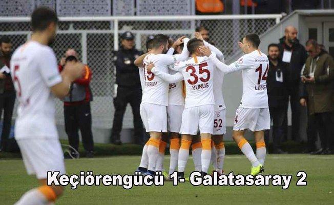 Galatasaray kupada zorlanmadı