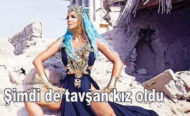Jelena Karleusa kıyafeti ile şaşırttı