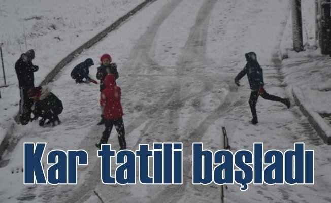 Kırklareli'nde okullar tatil; Trakya kara kışa teslim