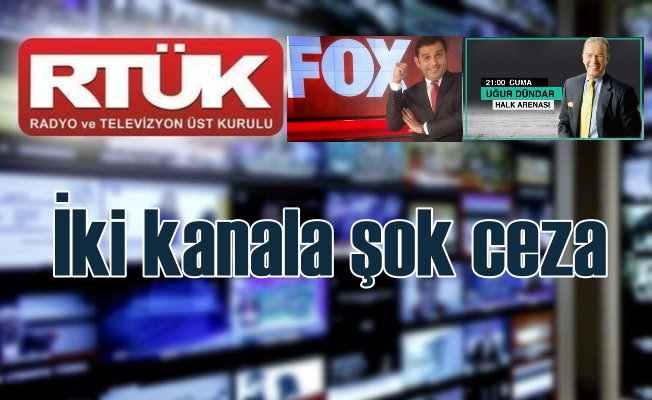 RTÜK'ten Fox TV ve Halk TV'ye ışık hızında ceza
