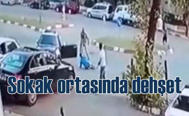 Sokak'ta dehşet: Dövdü, vurdu, ezmeye kalkıştı