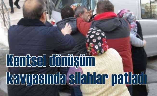 Ümraniye'de müteahhitler ile vatandaşlar çatıştı