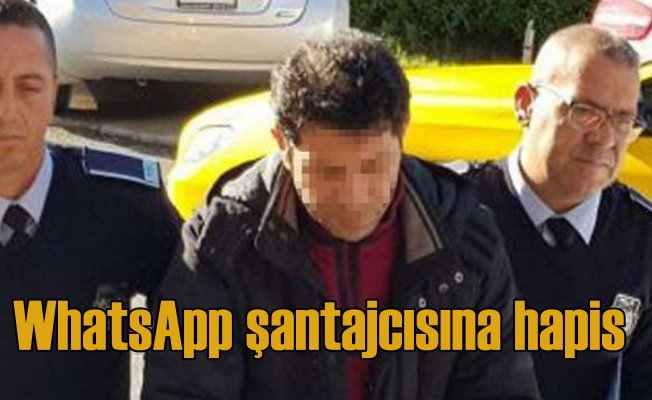Whatsapp şantajcısı tutuklandı; Evli kadına şantaj yapmış
