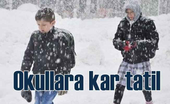 27 il ve çok sayıda ilçede okullara kar tatili
