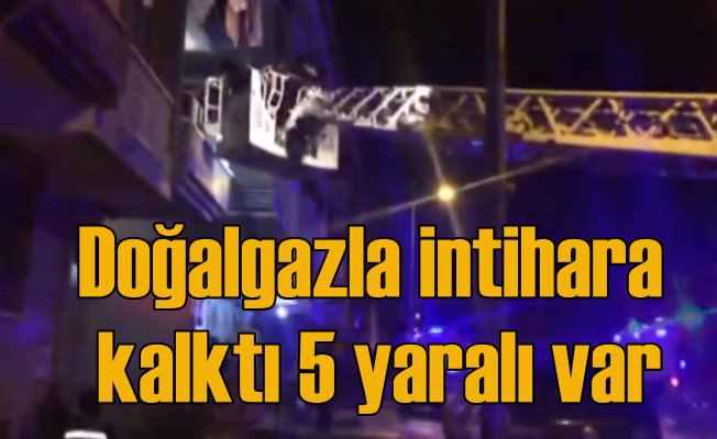 Ankara'da patlama: Doğal gazla intihar etmeye kalktı: 5 yaralı var